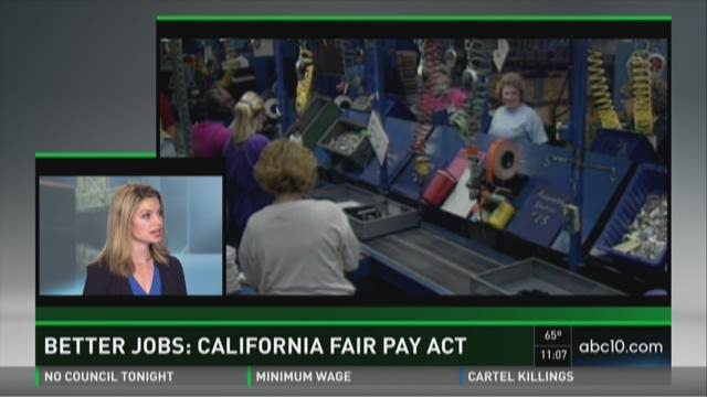 Better Jobs: California Fair Pay Act