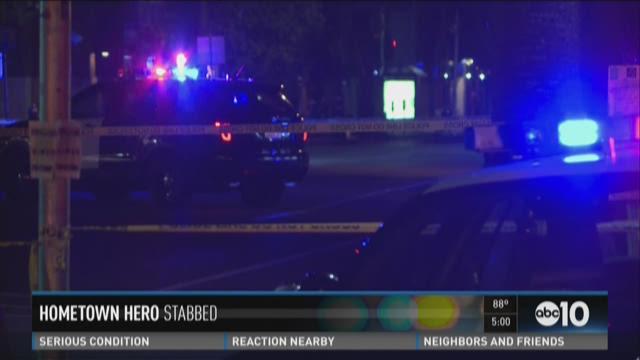 Police investigate stabbing of Spencer Stone