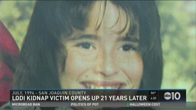 Lodi kidnap victim opens up 21 years later