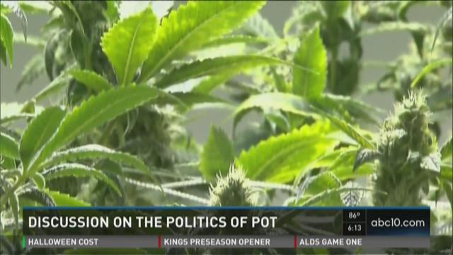 Discussion on the politics of pot