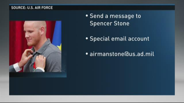Send a get well message to Spencer Stone
