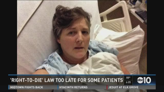 'Right-To-Die' law too late for some patients