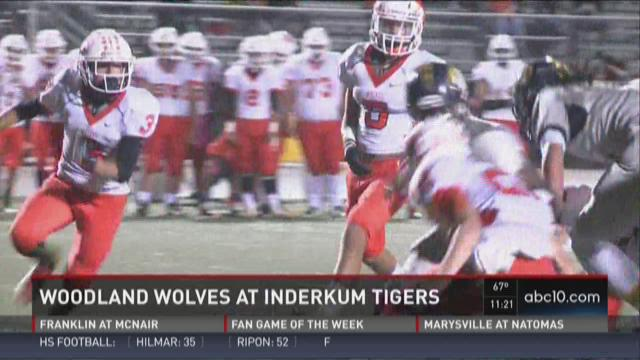 Woodland Wolves at Inderkum Tigers