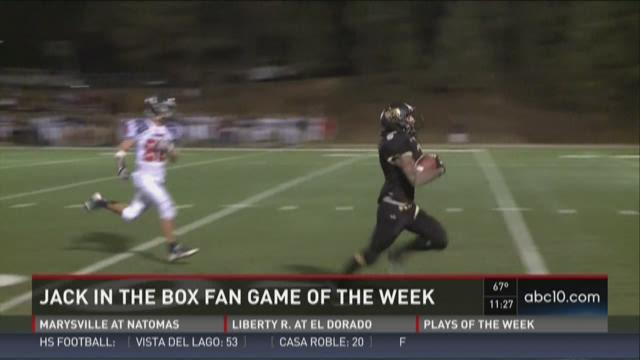 Jack in the Box Fan Game of the Week for Week 6