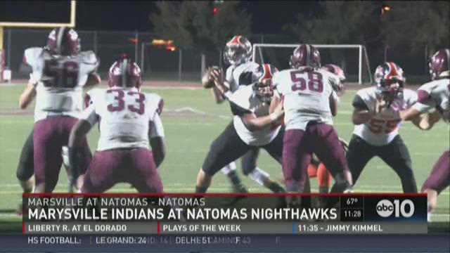 Marysville Indians at Natomas Nighthawks