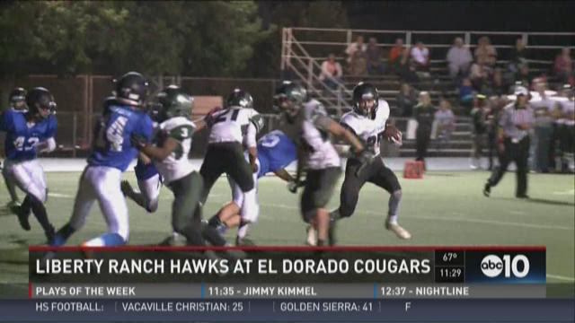 Liberty Ranch Hawks at El Dorado Cougars