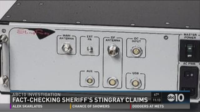 Fact-checking sheriff's stingray claims