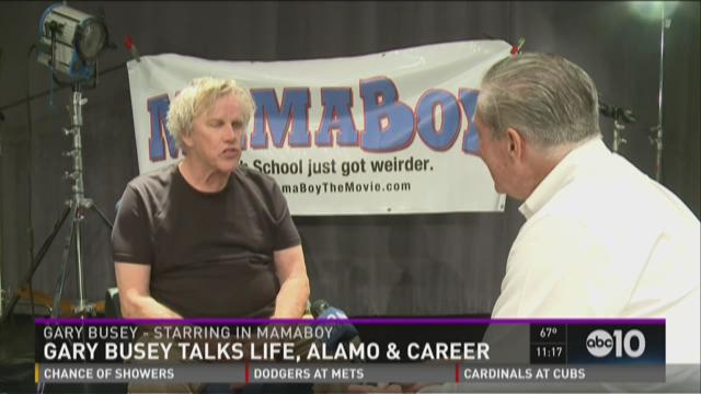 Gary Busey talks life, Alamo and career