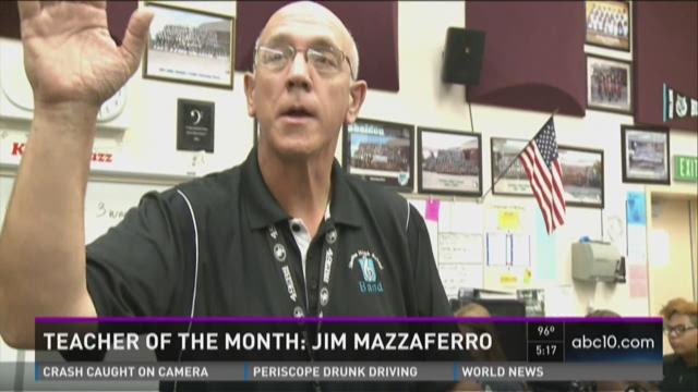 Teacher of the month: Jim Mazzaferro