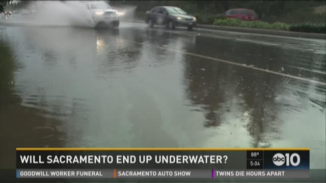 Study warns Sacramento could end up underwater