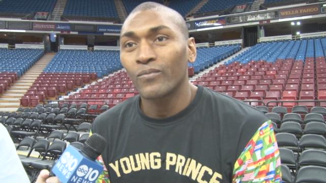 Say what? A conversation with Metta World Peace