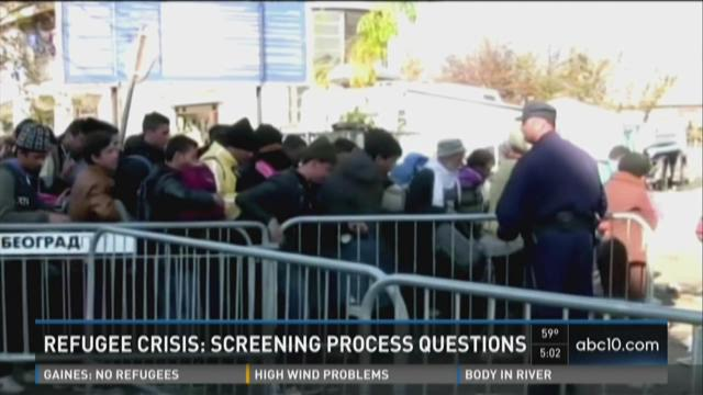 syrian refugees screening process