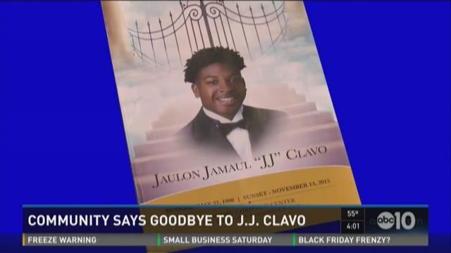 Community says goodbye to J.J. Clavo