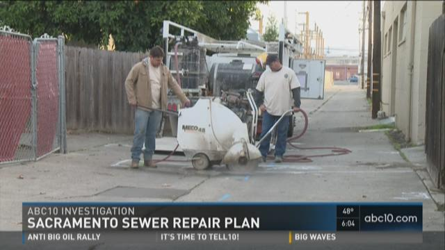 Sacramento changes course on sewer repair payments