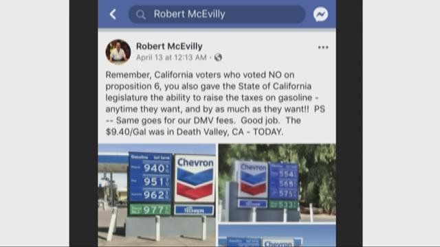 Did gas prices actually go over $9 in California's Death Valley? | Verify